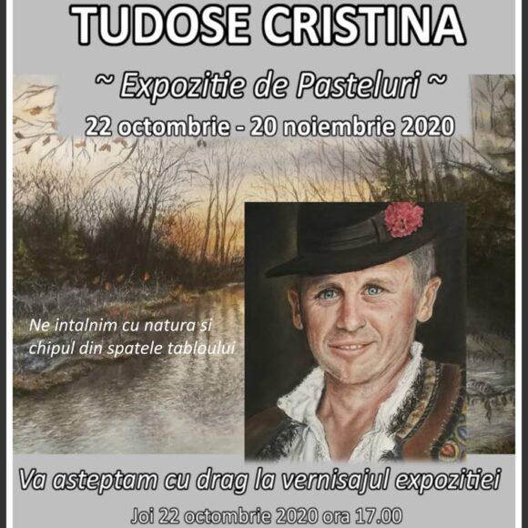 Expoziția de pictură: Pasteluri semnată de Cristina Tudose