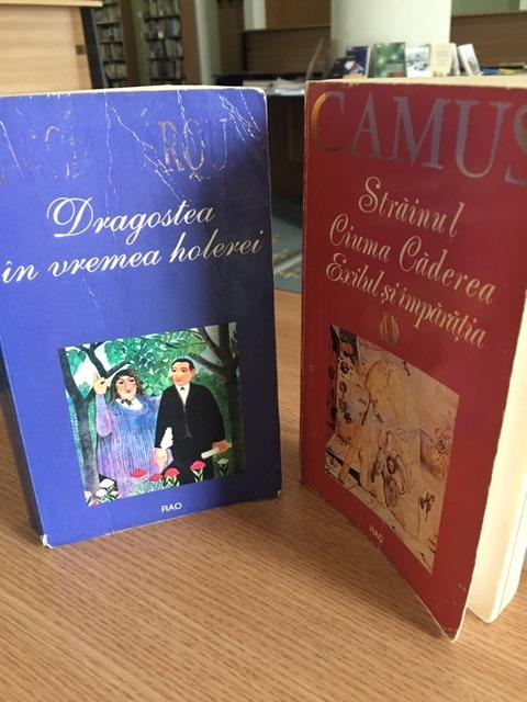 """Duelul cărților: """"Ciuma """" de Albert Camus vs. """"Dragostea în vremea holerei"""" de Gabriel Garcia Marquez"""
