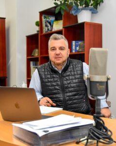 Ionuț Tenie, director Direcția de Cultură și Tineret