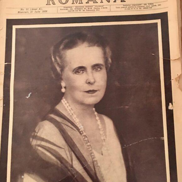"""""""Ilustrațiunea română"""" – ziar vechi din 1938. Imagini deosebite de la funerariile Reginei Maria"""