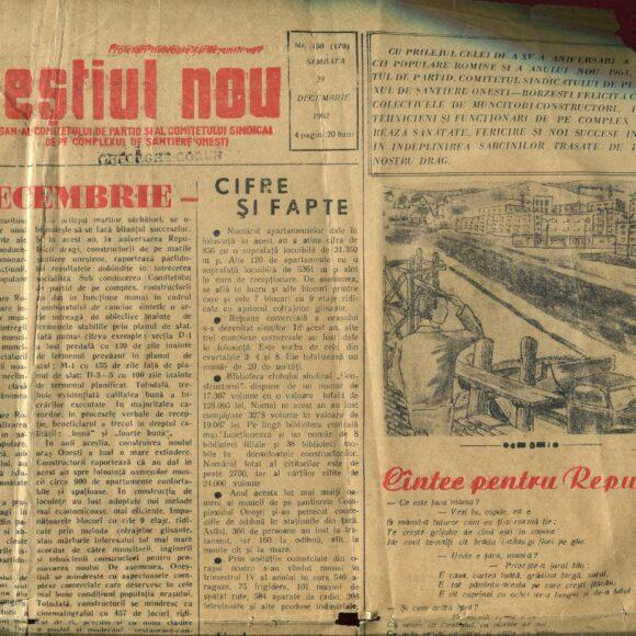 """Vânătoarea de comori: periodice vechi: """"Presa"""" și """"Oneștiul Nou"""""""