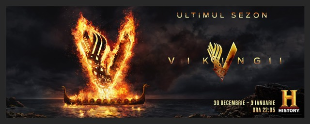 """Vikingii"""" a doua parte din sezonul final, pe HISTORY, din 30 decembrie"""