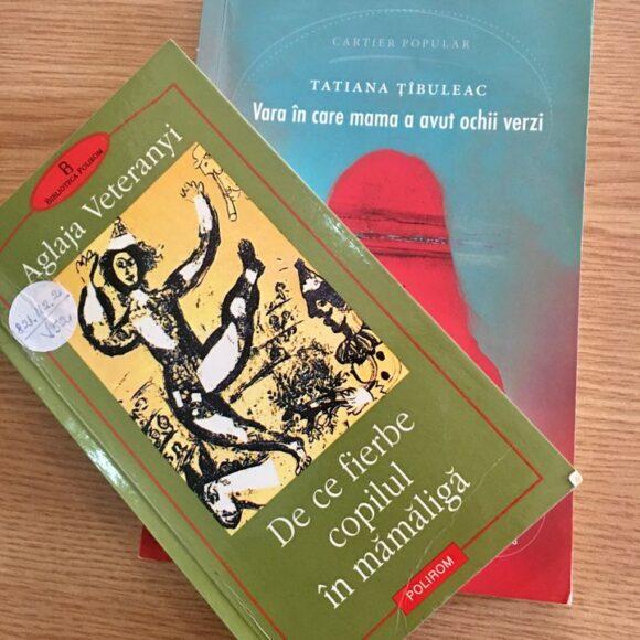 """Duelul cărților: """"De ce fierbe copilul în mămăligă"""" vs. """"Vara în care mama a avut ochii verzi"""""""