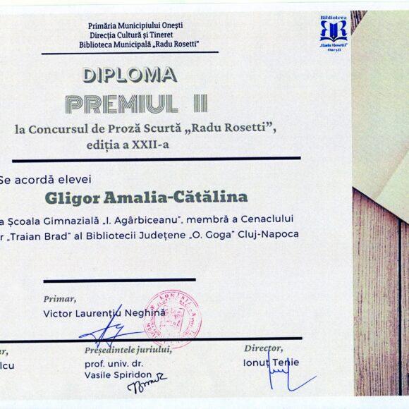 """""""New Microsoft Word Document"""" poveste scrisă de Gligor Amalia-Cătălina, premiul II la Concursul Național de proză scurtă """"Radu Rosetti"""", cat. 10-15 ani"""
