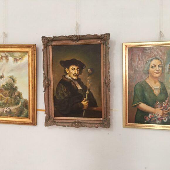 """Expoziție de artă plastică – Mihai Nechita-Burculeț. """"Un tablou este o poveste spusă pe un fond"""""""