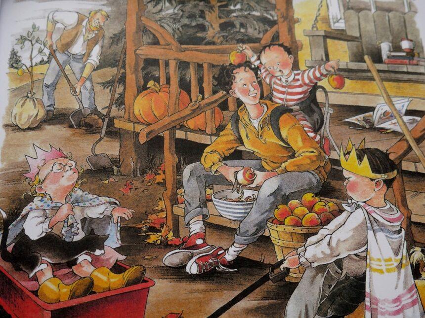 """Povestea de la prânz: """"Cei șapte papă-lapte"""" (audio)"""