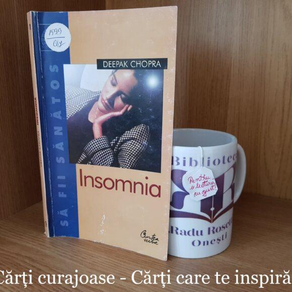 """Insomnia"" de Deepak Chopra"