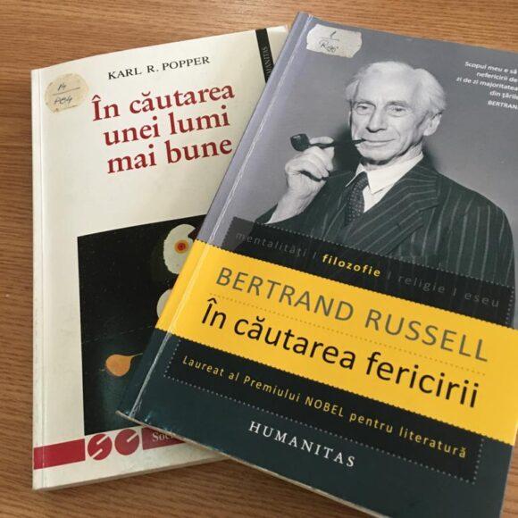 """Duelul cărților: """"În căutarea unei lumi mai bune"""" vs. """"În căutarea fericirii"""""""