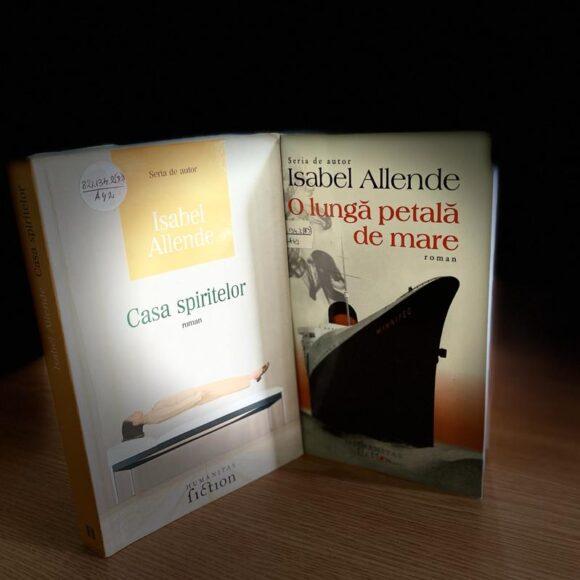 """Duelul cărților: """"Casa spiritelor"""" vs. """"O lungă petală de mare"""" de Isabel Allende"""