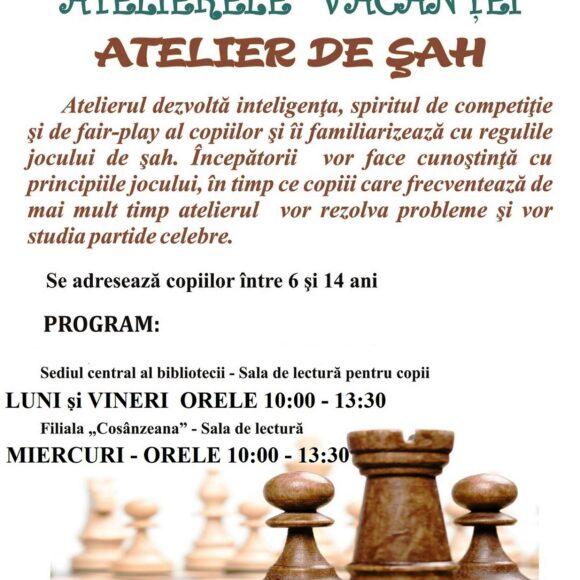 Atelier de șah