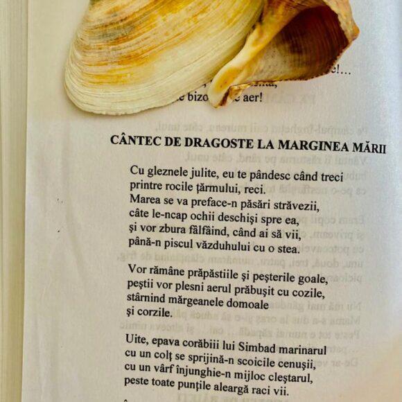 """Poezie pentru suflet: """"Cântec de dragoste la marginea mării"""""""